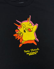 Load image into Gallery viewer, Rose Street Pika Tee Black