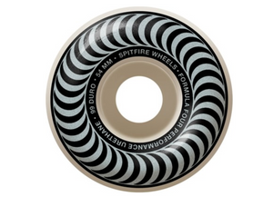 SPITFIRE F4 99A Classic Swirl 54MM 99D White/Silver