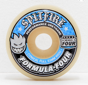 SPITFIRE F4 Conical Full 99A 53MM White/Blue