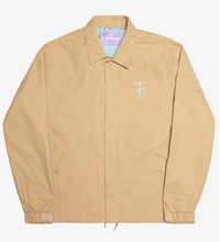 Load image into Gallery viewer, Alltimers Finesse Coaches Jacket Tan
