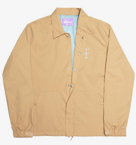 Alltimers Finesse Coaches Jacket Tan