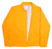 Load image into Gallery viewer, Alltimers Finesse Coaches Jacket Orange