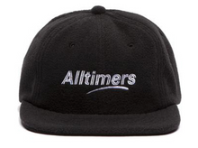 Load image into Gallery viewer, ALLTIMERS FLEECY CAP BLACK