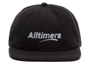 ALLTIMERS FLEECY CAP BLACK