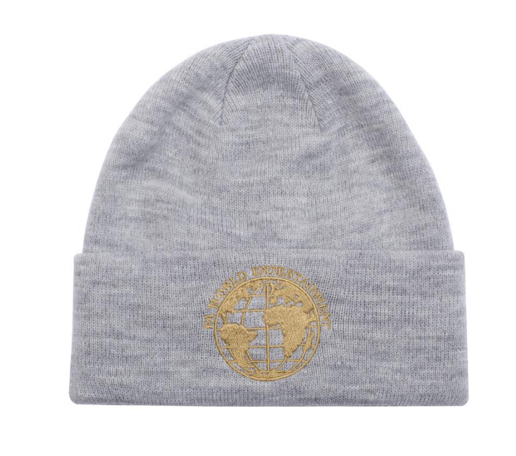 FA World Entertainment Beanie Gray