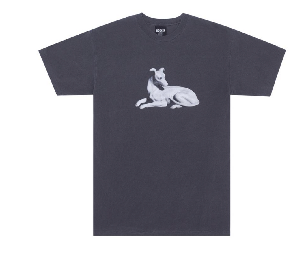 Hockey Porcelain Greyhound Tee Pepper