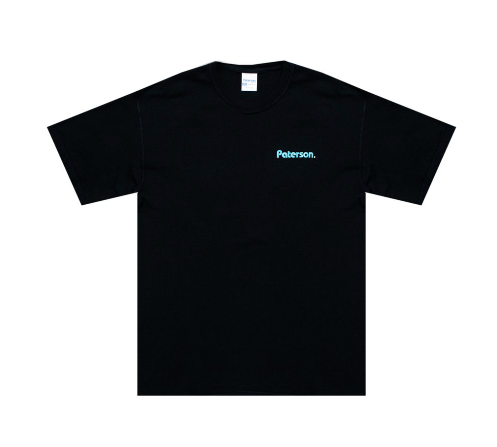 Paterson Court Crop Tee Black