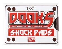 Load image into Gallery viewer, Shortys Dooks Shock Pads 1/8 Brown