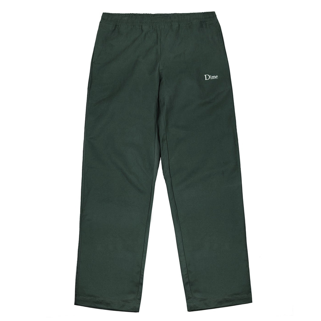 Dime Twill Pants Green