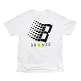 Bronze 56K Smiley B Logo Tee White