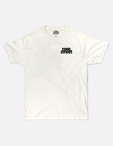 Rose Street Skate Your Ass Off Tee White