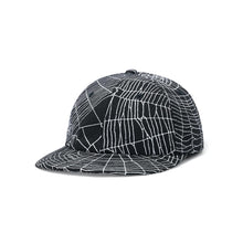 Load image into Gallery viewer, Butter Web 6 Panel Cap Black