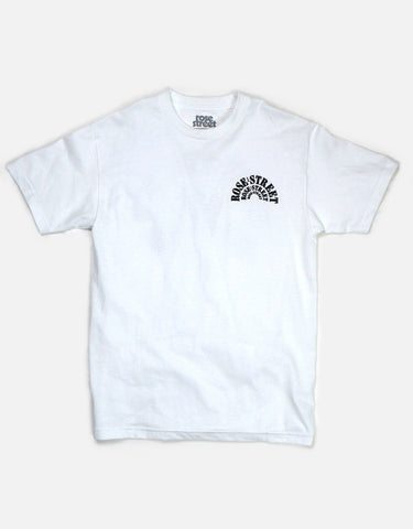 Rose Street Hands Tee White
