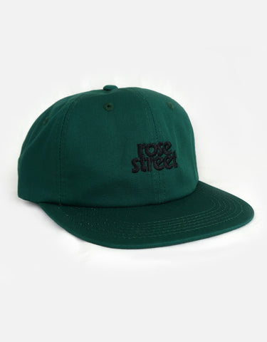 Rose Street Stacked Logo Hat Green