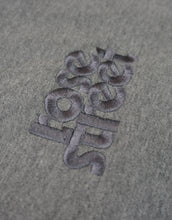 Load image into Gallery viewer, Rose Street Emb Stacked Logo Hoodie Heather Gray