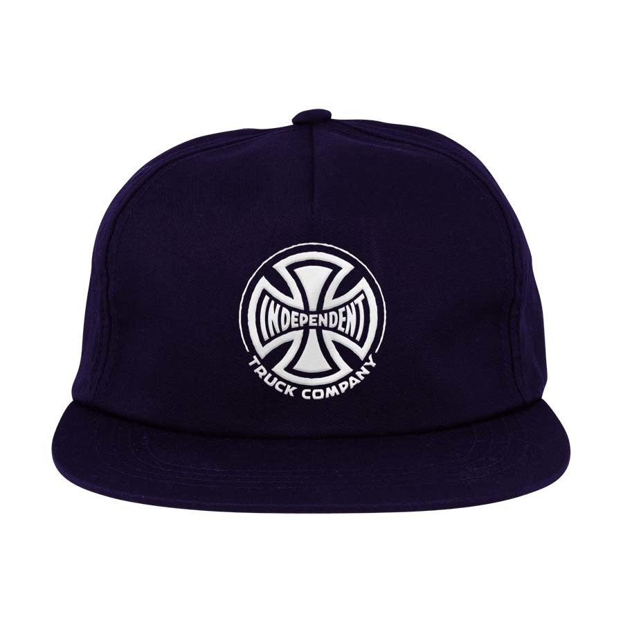 Truck Co. Embroidery Independent Hat Navy