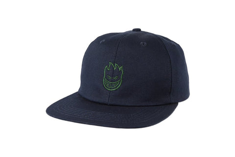 Spitfire Lil Big Head Hat Navy/Green
