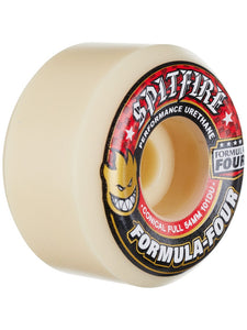 SPITFIRE F4 Conical Full 101A 54MM White/Red