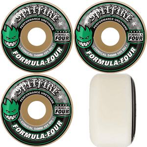 SPITFIRE F4 101A Conical 54MM White/Green