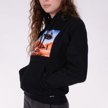 Load image into Gallery viewer, QUASI UFO HOODIE BLACK
