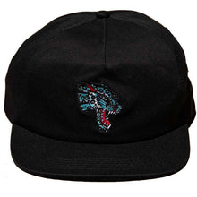 Load image into Gallery viewer, Thrasher Leopard Mag Snapback Black