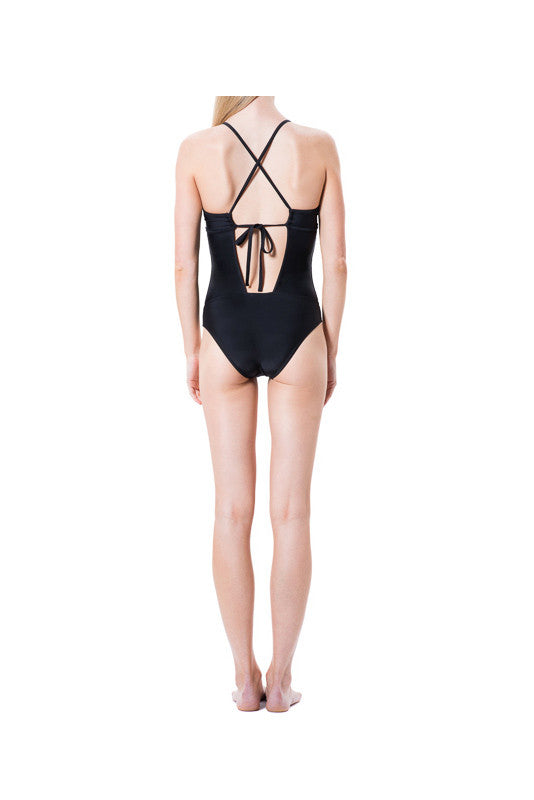 Tallow One Piece Suit - Nero