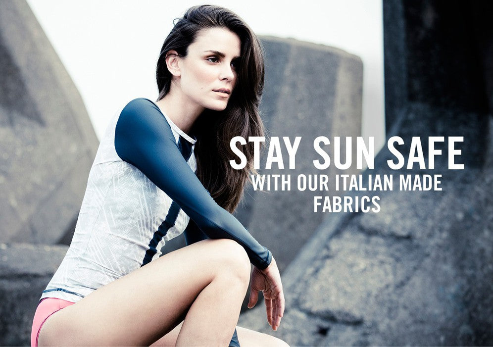Stay Sun Safe with our Italian made fabrics