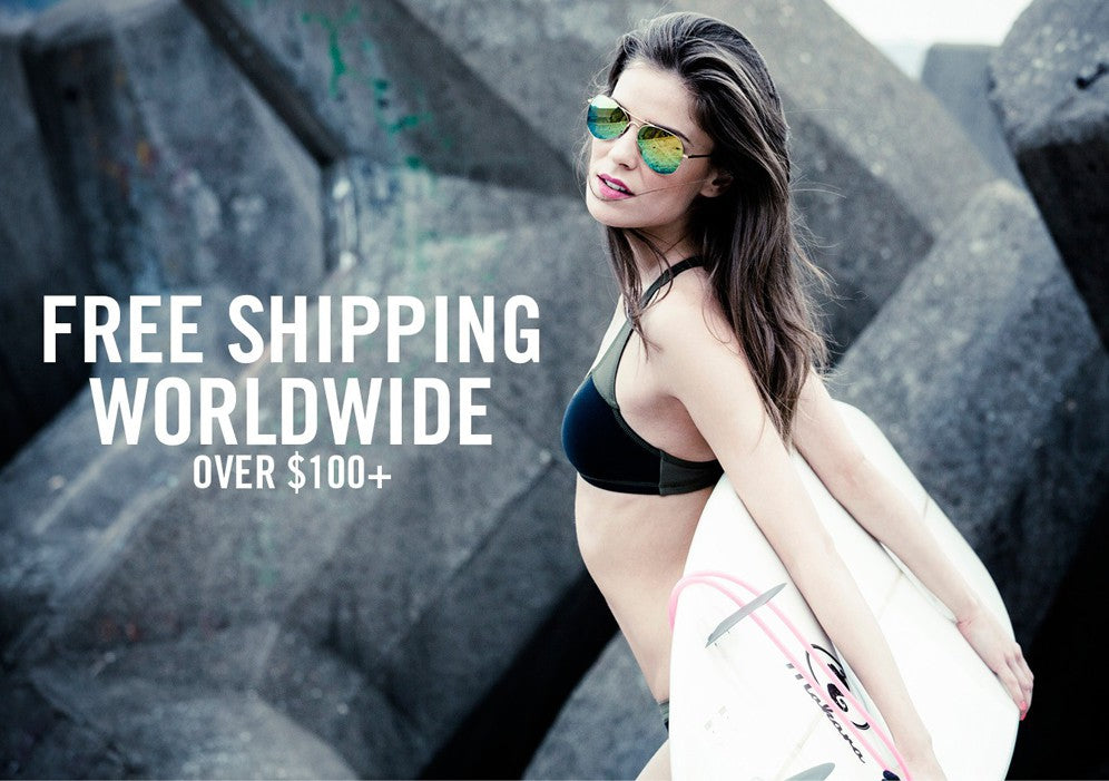 Fre Shipping Worldwide over $100+