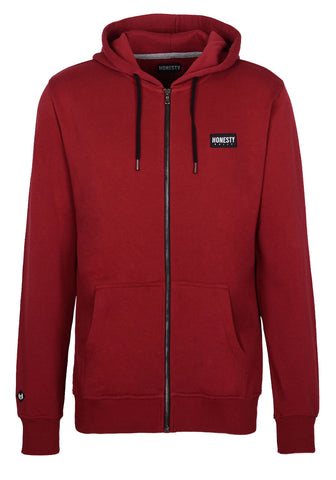 Basic Zip Hooded Sweat