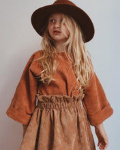 Load image into Gallery viewer, Rusty orange kimono top