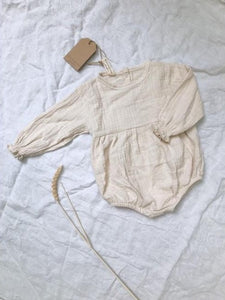 Cotton baby onesie