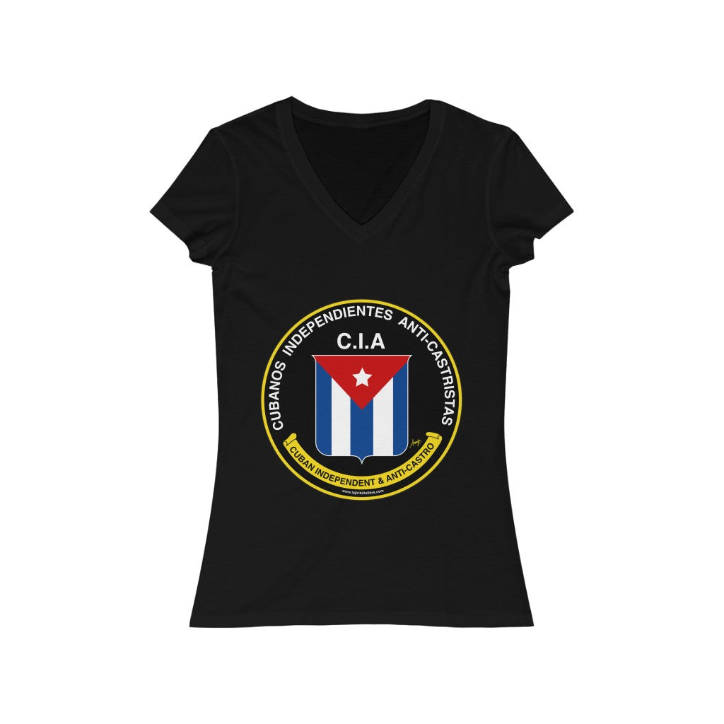 C.I.A - Anti-Castristas (Mujer) - Cuba Great Again