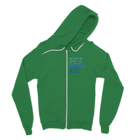 I'm Excited About The Return of Professional Sports Leagues Classic Adult Zip Hoodie