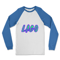ELECTRIC NEON LAGO Classic Raglan Long Sleeve Shirt