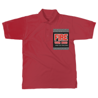 Fire Your Boss And Go Racing Classic Adult Polo Shirt
