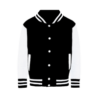 LAGO BLACK Varsity Jacket