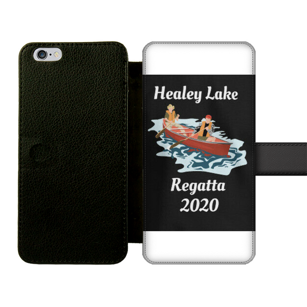 Healey Lake Regatta 2020 Front Printed Wallet Cases