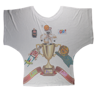 Lago Boys Coat of Arms Sublimation Batwing Top