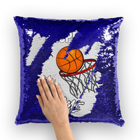 Respect My Game Sequin Cushion Cover