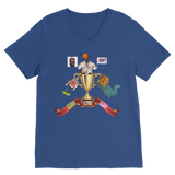 Lago Boys Coat of Arms Classic V-Neck T-Shirt