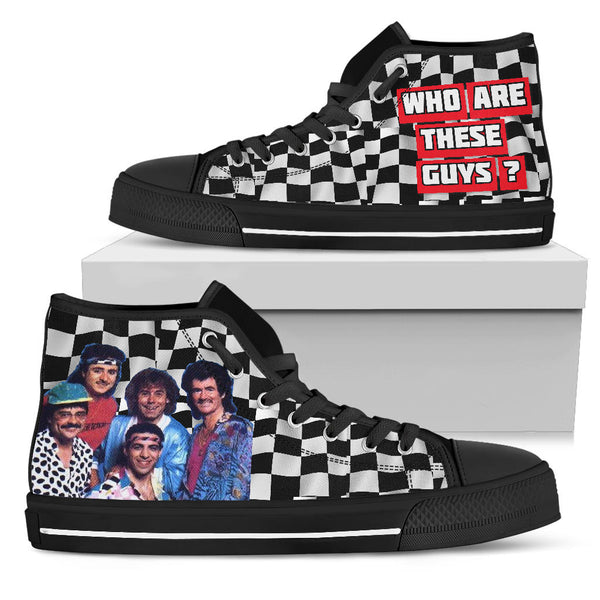 Who Are These Guys? Racing High Top Shoes