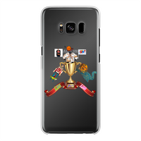 Lago Boys Coat of Arms Back Printed Transparent Hard Phone Case