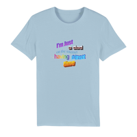 I'm Just a Dad On The Internet Having A Great Time Premium Organic Adult T-Shirt