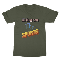 Bring On The Sports Classic Adult T-Shirt
