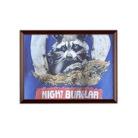 Night Burglar Sublimation Wall Plaque