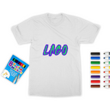 ELECTRIC NEON LAGO Colouring T-Shirt