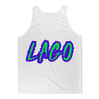 ELECTRIC NEON LAGO Classic Sublimation Adult Tank Top