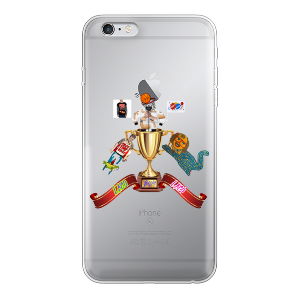 Lago Boys Coat of Arms Back Printed Transparent Soft Phone Case