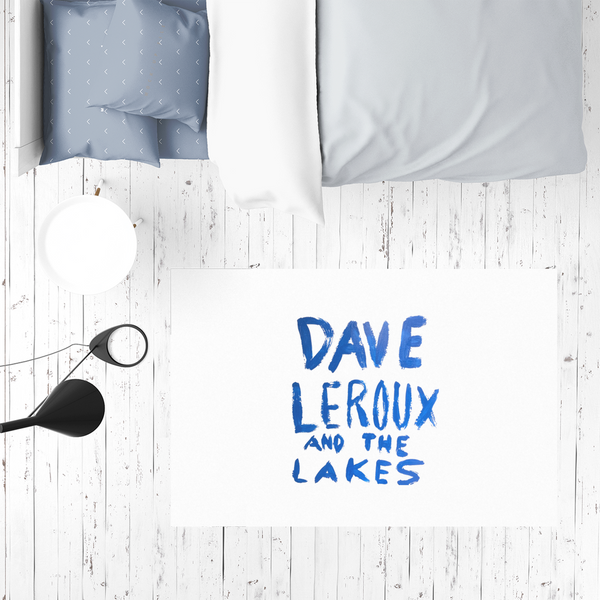 Dave Leroux And The Lakes Sublimation Mat / Carpet / Rug / Play Mat / Pet Feeding Mat