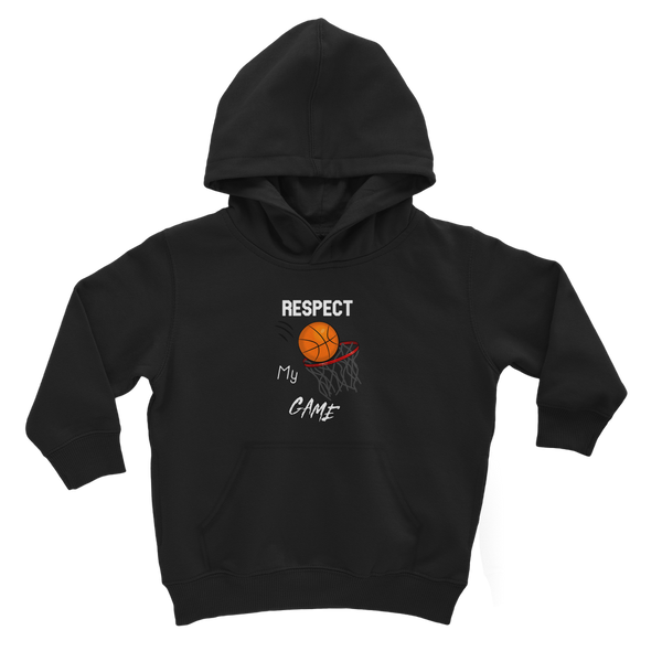 Respect My Game Classic Kids Hoodie